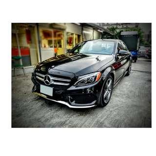 2015年 賓士 C300    黑   ✅0頭款 ✅免保人✅低利率✅低月付 FB搜尋:阿源 嚴選二手車/中古車買賣