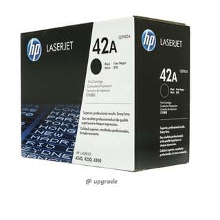 Original Hp cartridge  42A (free delivery)