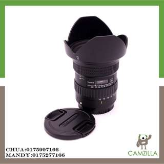 USED tokina lens sd 11-16 f2.8 (IF) DX FOR CANON