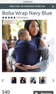 Boba Baby Wrap/Carrier