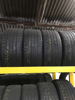 Used tayar 245/40/20 Michelin Super Sport 1set 4pcs