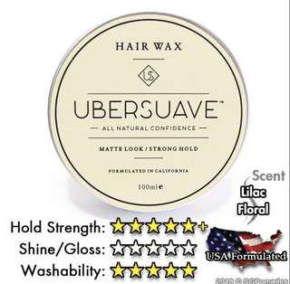CHEAPEST Ubersuave Hair Wax Pomade