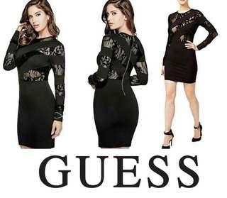 Guess Glam Spliced Dress