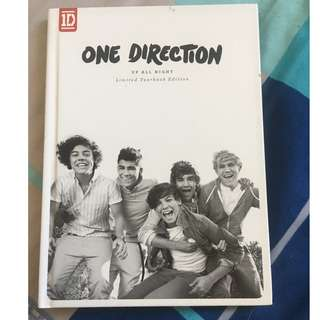 One Direction Up All Night limited yearbook edition