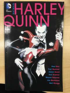 Harley Quinn TPB Trade Paperback by DC Comics - Read Once Only & In Excellent Condition
