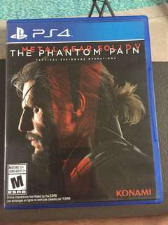 [PS4] Metal Gear Solid V: The Phantom Pain