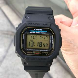 Casio 電子手錶 watch G-Shock DW-5600
