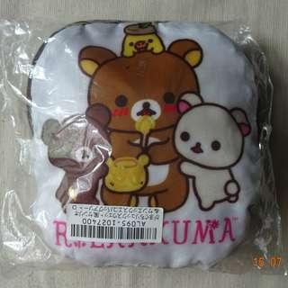 日本景品鬆弛熊環保袋