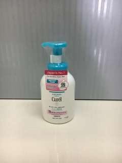 BN Sealed Curel Instant Foaming Body Wash 480ml (Japan)