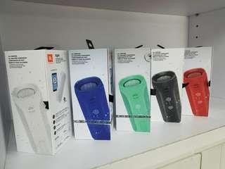 JBL Flip 4 Waterproof portable Bluetooth Speakers.