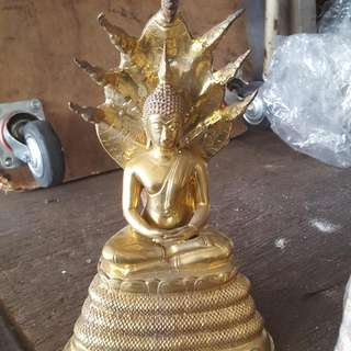 Buddha Statue Almost 15in Height $228..  Old Stocks.. Call 90899511