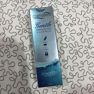 [NEW-FREE POSTAGE] Cosmoderm Gentle Night Revival Cream
