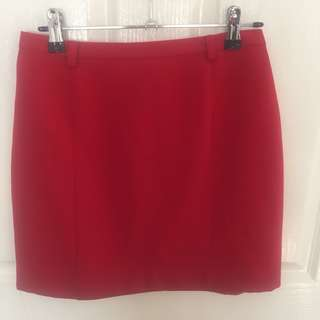 Events red skirt