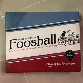 Mini Desktop Foosball