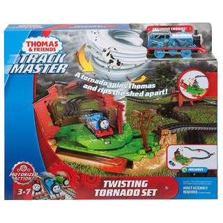 (In-Stock) Fisher-Price Thomas & Friends TrackMaster, Twisting Tornado Set (Brand New)