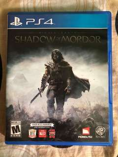 (PS4) Shadow of Mordor