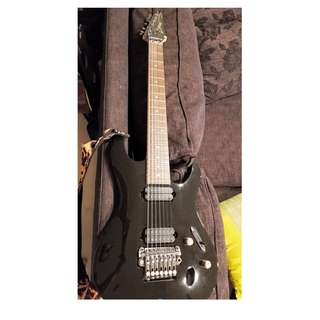 Electric Guitar - Ibanez 7 String S series