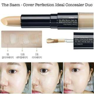 The Saem - Cover Perfection Ideal Concealer Duo