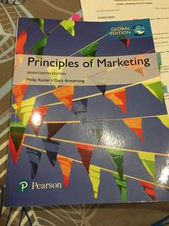 Principles of Marketing Seventeenth Edition (Latest)