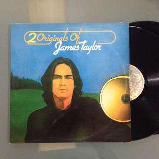 Lp James Taylor (20 Originals) - piring hitam/vinyl