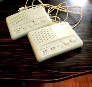 COMMAX Wireless Intercom 2 Set WI-3SN