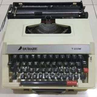Durare typewriter T300M