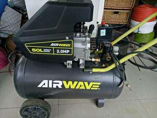 rush sale RYOBI 2hp compressor