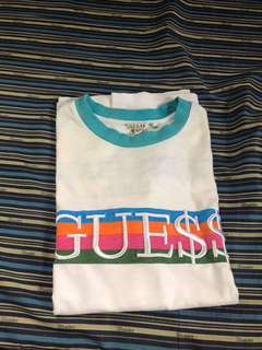 Guess ringer tee