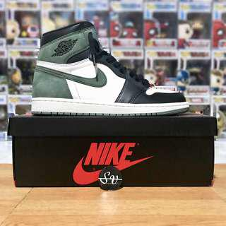 🚚 US11 - Nike Air Jordan 1 Retro High Clay Green Best Hand In The Game , limited edition sneaker not supreme, off white, yeezy