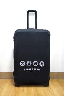 LUGGAGE COVER ( i love travel)