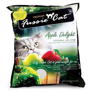 🚚 Fussie Cat Litter 10L x 10 Bag