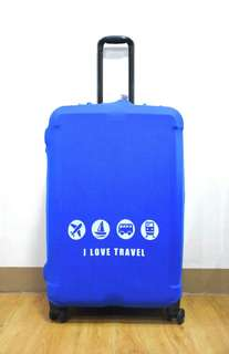 LUGGAGE COVER (I LOVE TRAVEL)