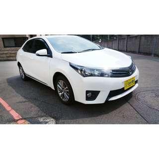 <小馬愛車 實車實價專區> 2013 Toyota Altis 1.8 白