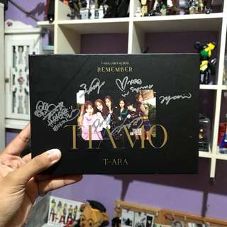 (Signed Album) T-ARA - Remember (12th Mini Album) + (Qri Photocard)