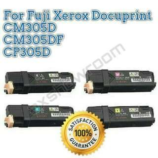 Colour Toner Cartridge For Fuji Xerox Printer CP305d / CM305df  Black Cyan  Magenta Yellow