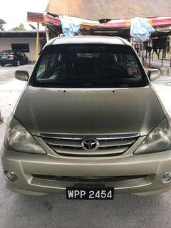 Toyota Avanza 1.3 (A)
