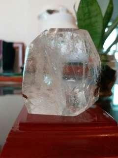 天然水晶連座 ~ 消磁.