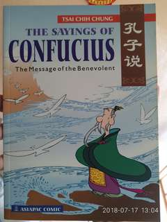 The Sayings of Confucius - The message of the benevolent