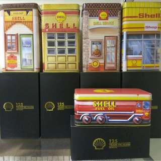 125th shell anniversary heritage big canister x5