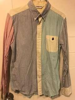 BAPE 男裝colour 直條恤衫👔