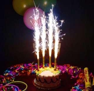 🚚 Fireworks Sparkling Candles