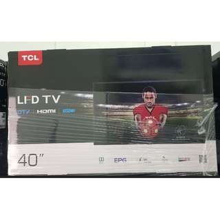 """TCL 40"""" FHD DVBT2 LED TV 40D3000"""