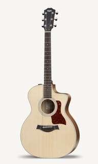 Taylor guitar 214ce