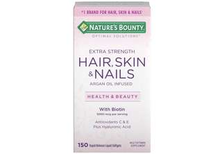 [IN-STOCK] Nature's Bounty Optimal Solutions Hair Skin & Nails Extra Strength