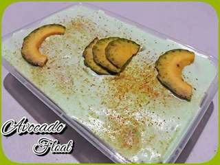 Avocado float and crinkles