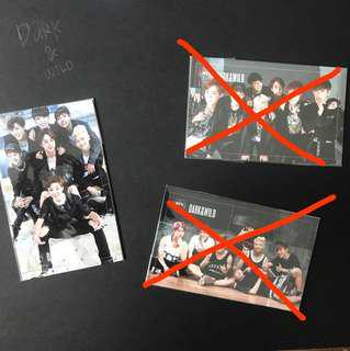 BTS Photocards