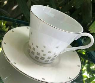 Bone China Cup and Saucer from Givency