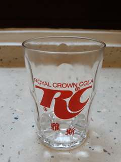 Vintage RC cola glass