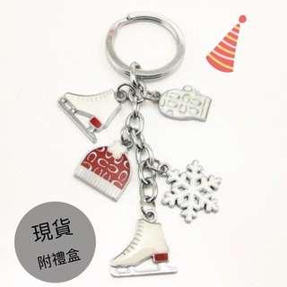 🚚 聖誕禮物鑰匙圈吊飾