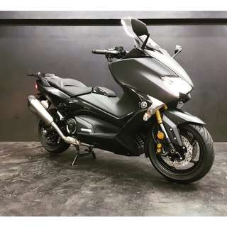 Akrapovic Full-System Exhaust for Yamaha Tmax DX